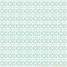 blue etnic pattern