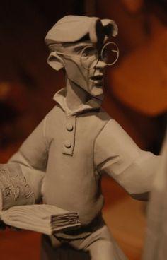 Milo Thatch #maquette - #Atlantis - Kent Melton