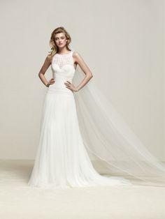 Brautkleid gerader Schnitt - Drisade