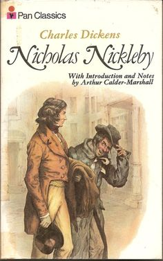 Nicholas Nickleby by Charles Dickens The by TheGlamourist on Etsy Nicholas Nickleby, Book Illustrations, Writer, Novels, Author, Characters, English, Books, Etsy