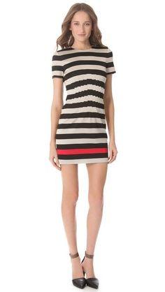 Yazmine Striped Dress