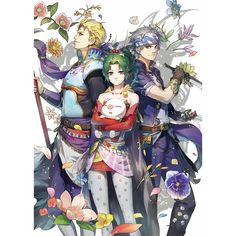 Doujinshi - Anthology - Final Fantasy VI / Celes & Tina (Final Fantsy Series) & Edgar Roni Figaro (Party) / Karindrops*f