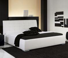 Bett Massa Comfort - stylisches Polsterbett in Komforthöhe