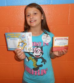 Hailey is our Kid of the Day! Hailey likes having friendly staff at the Club to spend time with.