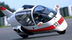 The MonoTracer is what happens when you combine a car, a motorbike, and an airplane