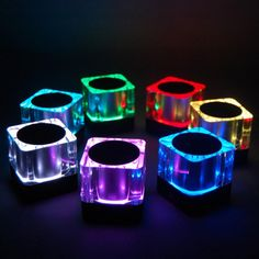 A portable Bluetooth speaker with 7 selectable LED colours and crystal clear sound. Featuring wireless music streaming, hands-free calling and line-in port, it's a must have for any gadget lover.