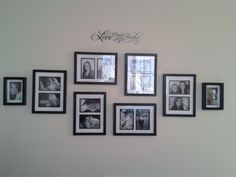 Picture arrangement @Kelli Glass