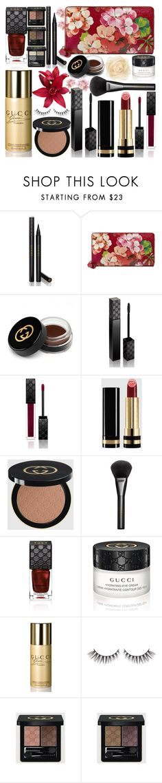 """Gucci"" by grozdana-v ❤ liked on Polyvore featuring beauty, Gucci and gucci"