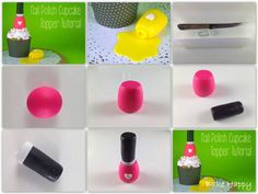 http://bakehappy.blogspot.be/2013/05/how-to-make-nail-polish-cupcake-topper.html#.UZqee8ZOJhg