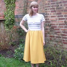 """93 Likes, 16 Comments - Teresa Bettelley (@shirleyrainbow_tb) on Instagram: """"I'm joining the #monetaparty today! This dress is made with jersey from @minervacrafts and I'm just…"""""""