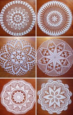 Best 12 Image detail for -Charming Things – Doilies – Rococo Boutique Design Studio Crochet Placemats, Crochet Table Runner, Crochet Flower Patterns, Crochet Designs, Crochet Flowers, Love Crochet, Crochet Motif, Vintage Crochet, Crochet Doilies