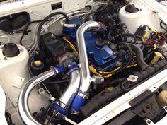 My 87' Starion aka Panda' G54B engine.