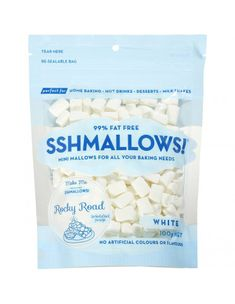 Sshmallows White Mini Marshmallows. Watch vanilla limits. Mallows contain preservative in tiny amount and seems to be well tolerated Online Supermarket, Tree Nuts, Home Baking, Mini Marshmallows, Nutrition Information, Natural Flavors, Milkshake, Vanilla, Diet