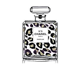French No 5 Perfume Bottle Cheetah Leopard Fashion Art Print,... (15 PLN) ❤ liked on Polyvore featuring home, home decor, wall art, perfume, motivational posters, chanel wall art, inspirational wall art, girls wall art and french wall art