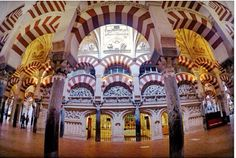Mosque of Córdoba represents the beauty of Islamic Architecture