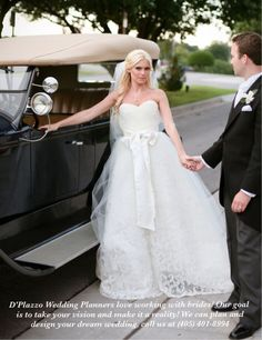 D'Plazzo Wedding Planners loves our brides. Bride Kelsey is wearing her one-of-kind D'Plazzo wedding gown, and D'Plazzo Wedding Planners were honored to help design and plan her beautiful wedding! Just love my job, call (405) 401-8994 and D'Plazzo can help plan and design your dream wedding and wedding gown.  D'Plazzo is also on Facebook!