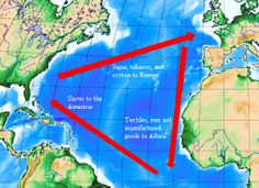 Trail Guide to Learning = Paths of Exploration:  Columbus:  Bahamas Discovery = triangle_slave trade