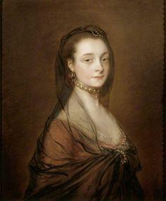 1759 Elizabeth Cowper (1737–1805), Lady (Archer) Croft by Thomas Gainsborough