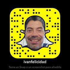 Ya estoy en Snapchat #RedesSociales Blogs: yosoymifelicidad.blogspot.com (Si te digo ... Soy Feliz ...)  Email: yosoymifelicidad@gmail.com  Facebook: ivanfelicidad Twitter: ivanfelicidad  Instagram: ivanfelicidad  Linkedin: ivanfelicidad  Pinterest: ivanfelicidad  Snapchat: ivanfelicidad