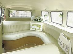 Image result for splitscreen curved seat interiors