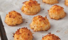 Vanilla Macaroon Recipe by Dan Cohen, owner of Danny Macaroons and author of the Macaroon Bible.