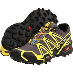 Salomon...most comfortable pair of shoes I own!! Cool color options as well!
