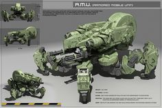 ArtStation - My Armored Mobile Unit 3d Hard Surface modeling work ., kunal dhiman