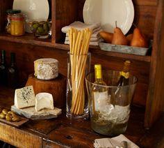Sixpence & A Blue mOOn: Pottery Barn Bar and Hutch