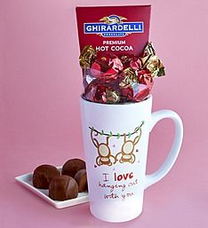 Love Hanging Out with You Mug & Sweets Gift