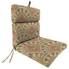Free Shipping on orders over $35. Buy Jordan Manufacturing Outdoor Patio Chair Cushion, Crescent Beach Coral at Walmart.com