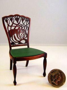 A. H. Mackmurdo Chair, photo by Keith Bougourd