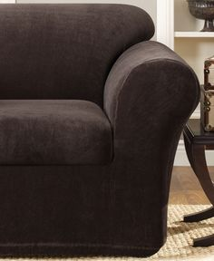 Sure Fit Stretch Metro 2-Piece Chair Slipcover