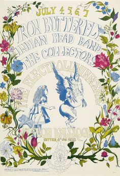 Iron Butterfly at the Avalon Ballroom, July 1968.