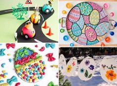 12 ous de Pasqua ben artístics - totnens Plates, Tableware, Kitchen, Licence Plates, Dishes, Dinnerware, Cooking, Griddles, Tablewares