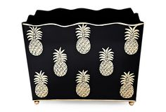 pineapple magazine rack