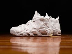 Release Date : May 26, 2017 Nike Air More Uptempo « White on White » Credit : Renarts #Nike #Inside #Sneakers