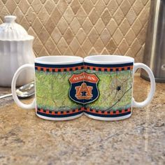 2-mug pack...when they're together they make the AU logo :)