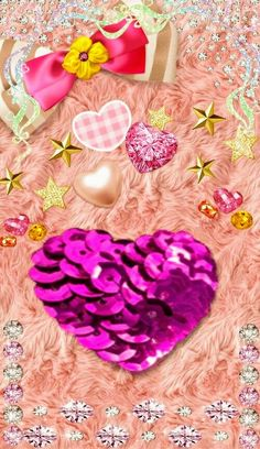 Glamour Wallpaper, Bling Wallpaper, Iphone Wallpaper Glitter, Heart Wallpaper, Galaxy Wallpaper, Iphone Wallpapers, Wallpaper Backgrounds, Diamond Glitter, Hearts