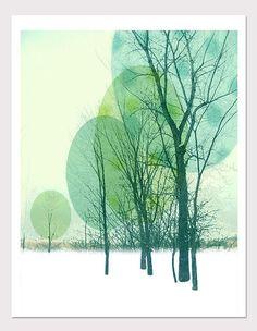 Tree Print - Graphic art photo illustration - Rubyfaz via Etsy Graphic Prints, Graphic Art, Art Prints, Block Prints, Linocut Prints, Photo Illustration, Graphic Design Illustration, Tree Graphic, Winter Trees
