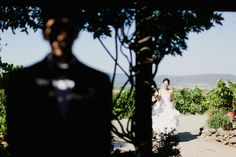 First glance at Viansa Winery wedding. Tinywater Photography, http://tinywater.com.