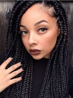 Easy Braided Hairstyles for Black Hair. 22 Beautiful Easy Braided Hairstyles for Black Hair. Easy Braided Hairstyles for Black Hair Best Braids Twist Braided Hairstyles For Black Women, Braids For Black Women, Braids For Black Hair, Black Hairstyles, Hairstyles 2016, Ponytail Hairstyles, White Girl With Braids, Fishtail Ponytail, Drawing Hairstyles