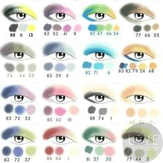 Eye color combination
