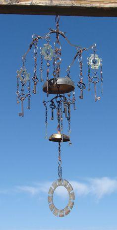 Kinetic sculpture windchime