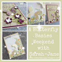 Sarah-Jane Rae cardsandacuppa: Stampin' Up! UK Order Online 24/7: Butterfly Basics Weekend
