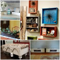 15 Smart Ways to Reuse Old Drawers