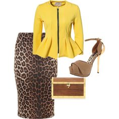 """Nice brunch or church outfit"" by dlc8234 on Polyvore"