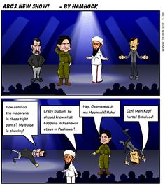 ABC's new show Dancing with the Dead Dictators!