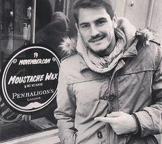 El bigote solidario de Casillas - MARCA.com