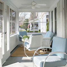 Enclosed porch design for DC house