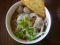 Taste of Siam: Boat Noodles Easy Thai Recipes, Asian Recipes, Ethnic Recipes, Boat Noodle, Noodles, Spices, Yummy Food, Cooking, Blog